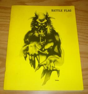 Battle Flag Magazine FN richard corben art/interview - vaughn bode cheech wizard