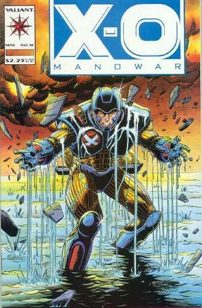 X-O Manowar (1992 series) #16, NM (Stock photo)