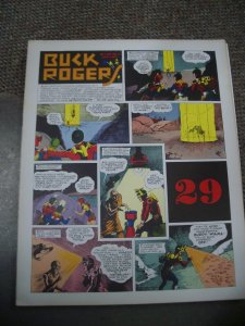 BUCK ROGERS #29-ITALIAN SUNDAY STRIP REPRINTS-CALKINS FN