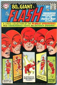 THE FLASH #169 1967-DC GIANT------ORIGIN FACTS REVEALED VG