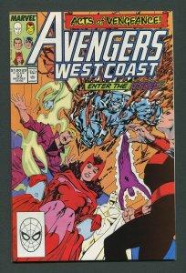 West Coast Avengers #53  9.2 NM-  December 1989