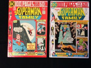 The Superman's Family, #165, 166, 168, 169, 170, 177, & 178, All Giant Issues