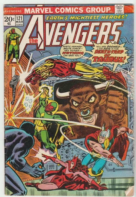 Avengers, The #121 (Mar-74) VG/FN Mid-Grade Avengers