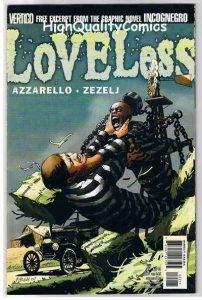 LOVELESS 22, NM+, Civil War, Brian Azzarello, 2005, more Vertigo in store