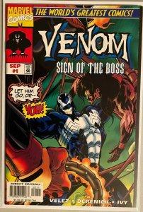 Venom sign of the boss #1 6.0 FN (1997)