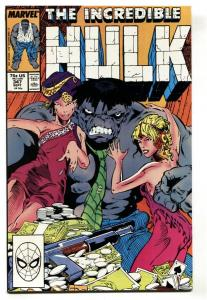 Incredible Hulk #347 1st JOE FIXIT / Grey Hulk -Comic Book NM-