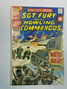Sgt. Fury and His Howling Commandos Annual #4 4.0 VG (1968)