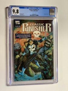 classic Punisher 1 CGC 9.8 WP Newsstand Edition Marvel 1989