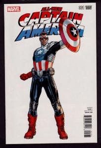 All New Captain America #1 (Jan 2015, Marvel) Sara Pichelli 1:25 Cover 9.4 NM