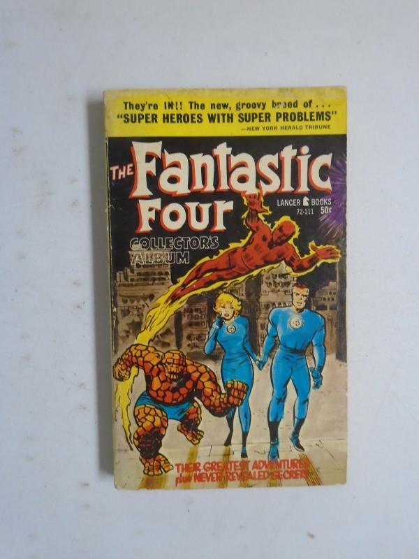 Stan Lee Presents Fantastic Four Collector's Album #1 - 1st Print - 6.0 - 1966