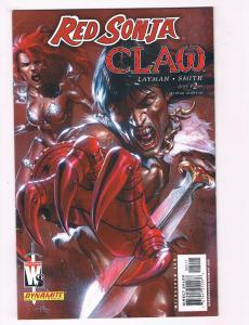 Red Sonja Claw #2 NM Dynamite Comics Comic Book 2006 DE28