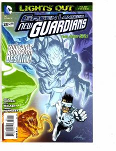 Lot Of 2 Green Lantern New Guardians DC Comic Books # 24 + Annual # 2 Flash J209