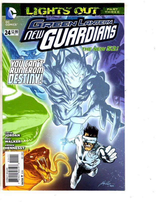Lot Of 2 Green Lantern New Guardians DC Comic Books # 24 + Annual # 2 Flash J209