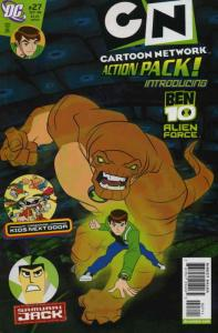Cartoon Network Action Pack #27 FN; DC | save on shipping - details inside