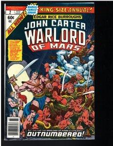 John Carter Warlord of Mars Annual #2 (1978)