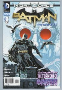 Batman V2 Annual 1 Jul 2012 NM- (9.2)
