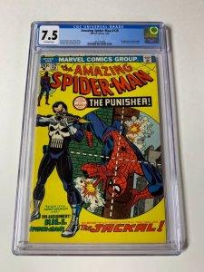 The Amazing Spider-Man 129 Cgc 7.5 1st Jackal ! 1st Punisher Marvel Bronze age