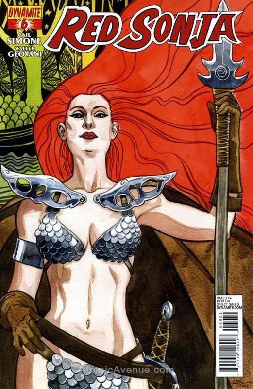 Red Sonja (Dynamite, Vol. 2) #6A VF/NM Dynamite - save on shipping - details ins
