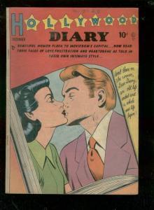 HOLLYWOOD DIARY #1 1949-STYLISH FASHION ART-QUALITY PUB VG/FN
