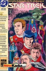 Star Trek (1989 series) #24, VF+ (Stock photo)