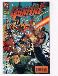 Gunfire #11 FN/VF DC Comics Comic Book Wein Apr 1995 DE38 AD11