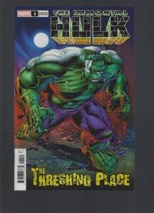 The Immortal Hulk: The Threshing Place #1 Variant