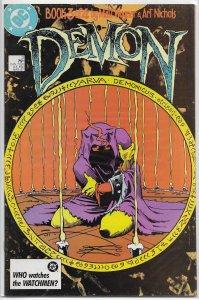 Demon (vol. 2, 1987) #3 of 4 FN Matt Wagner