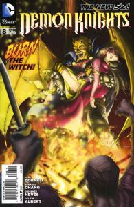Demon Knights #8 VF; DC | save on shipping - details inside