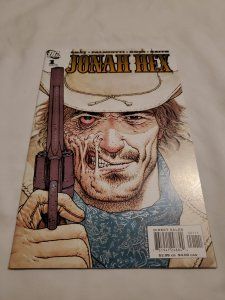 Jonah Hex 1 Near Mint- Cover by Frank Quitely
