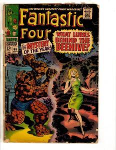 Fantastic Four # 66 GD Marvel Comic Book Thing Dr. Doom Human Torch Storm J313
