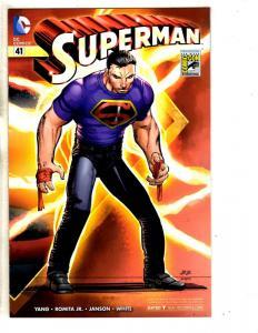 Superman # 41 NM Variant Cover DC Comic Book Romita Jr. Cover Batman Joker MK3