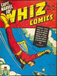 Special Edition Series #1 1974-1st issue-Capt Marvel-Whiz Comics-CC Beck-FN