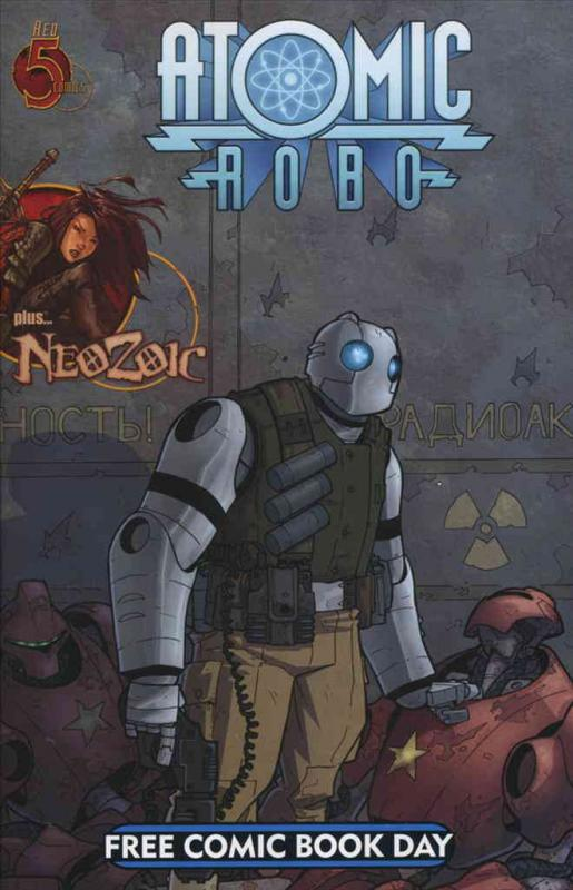 Atomic Robo FCBD #2008 VF/NM Red 5 - save on shipping - details inside