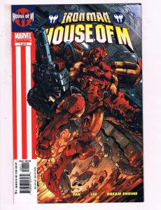 Iron Man House Of M #1 Of 3 VF Marvel Limited Series Comic Book Pak DE15