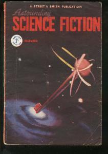 ASTOUNDING SCIENCE FICTION 1948 DEC-BRITISH ED-SCI-FI-very good VG