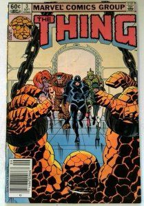 Thing #3 Marvel 1983 FN+ Bronze Age Guest Inhumans 1st Printing Comic Book
