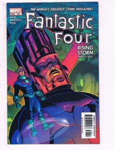 Fantastic Four #520 VF Marvel Rising Storm Part 1 Of 3 Comic Book Waid 2004 DE11