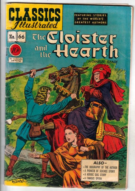 Classics Illustrated #66 (Jan-49) VG/FN Mid-Grade