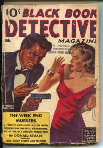 Black Book Detective-1/1939-Thrilling-hardboiled mystery-violence-pulp thrills-F