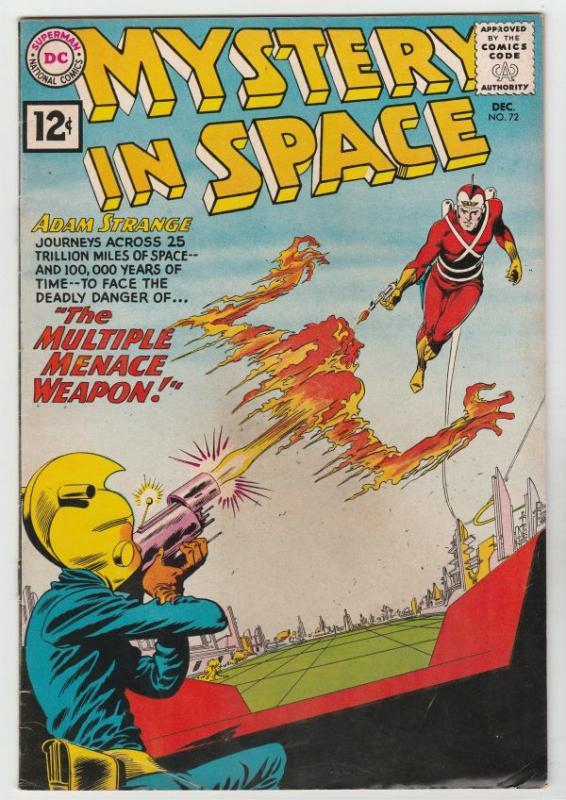 Mystery in Space #72 (Dec-61) VF High-Grade Adam Strange