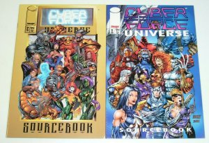CyberForce Universe Sourcebook #1-2 FN/VF j. scott campbell the darkness preview