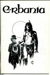 Erbania #21 1967-Edgar Rice Burroughs-Tarzan-J. Cawthorn-info-pix-art-FN