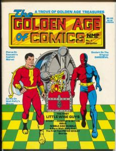 Golden Age of Comics #1 1982-1st issue-Captain Marvel-Walt Kelly-Peter Wheat-FN