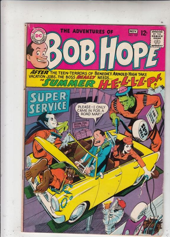Bob Hope #107 (Nov-67) FN Mid-Grade Bob Hope