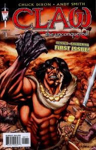 Claw The Unconquered (2nd Series) #1 VF/NM; WildStorm | save on shipping - detai