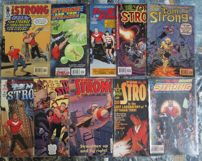 Tom Strong MiniLibrary Lot of 28 comics Alan Moore ABC Terrific Adventure Tales