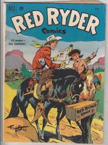 Red Ryder Comics #93 (Apr-51) FN- Mid-Grade Red Ryder
