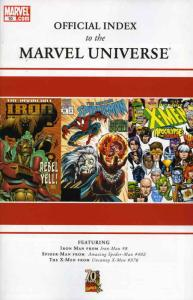 Official Index to the Marvel Universe #10 VF/NM; Marvel | save on shipping - det