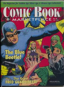 Comic Book Marketplace #79 2000-sophisticated collectors fanzine-Blue Beetle-FN-