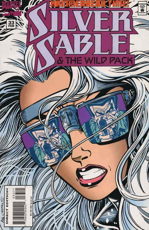 Silver Sable #33 VF/NM; Marvel | save on shipping - details inside